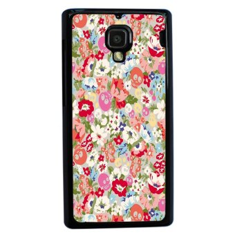 Floral Pink Pattern Phone Case For Xiaomi Mi4