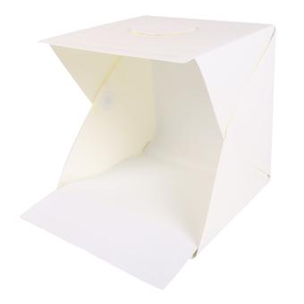 Folding Photo studio Shooting Tent with LED Light Room Photo Studio Photography Lighting Tent Backdrop Cube Box Mini Stand Portable - 4