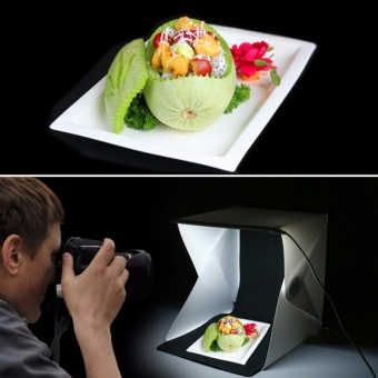 Folding Studio Portable Photography Mini Studio Foldable Softbox Soft Lightbox - intl