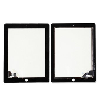 For Apple iPad 2 Touch Screen Front Glass Digitizer Replacementwith Repair Tools Black