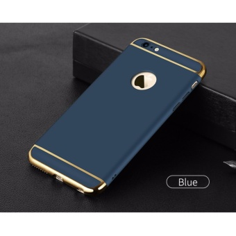 For Apple iphone 6 plus/6S plus 3 In 1 Hard PC + Acrylic Luxury Anti-knock Armor Ultra Slim Metal Hard Back Case Cover 5.5inch - intl - 3