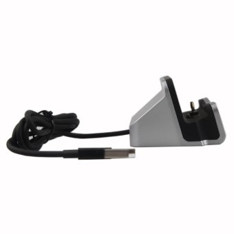 For Apple iphone 7 7plus 5s 5 se 6 6s 6plus 6s plus Desktop SyncDock charging base mobile Phone stand Holder - intl - 4