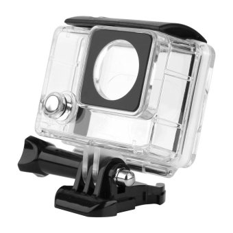 For Gopro 4 Accessories Transparent Waterproof Housing Case ForGopro Hero 4 3+ Go Pro Hero 4 Black Sliver Camera Hero4 Kits - intl Price Philippines