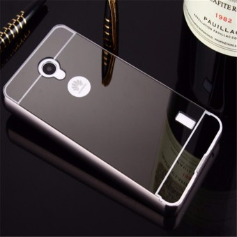 For Huawei Ascend Y635 Case Ultra Slim Aluminum Frame + Plated Metal Mirror Hard PC Back
