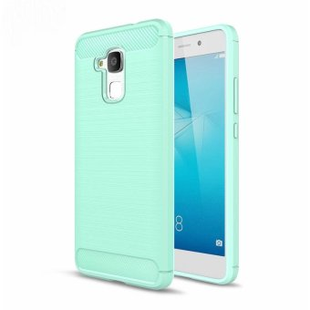 For Huawei Honor 7 Lite Case GT3 Slim Rugged Armor ShockproofHybrid Soft Rubber Silicone Phone Case Cover For Huawei Honor 5C(Green) - intl