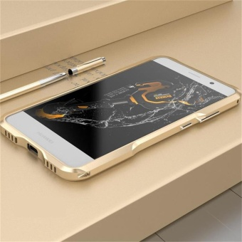 For Huawei mate 9 Original Aluminum Metal Frame Case Hard ScrewArmor Phone Case Cover - intl