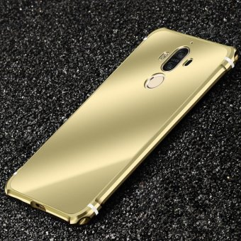 For Huawei mate 9 Ultra thin Case Luxury Plating Aluminum Alloy Frame Mirror Back Cover Phone Cases - intl Price Philippines