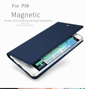 For Huawei P10 Luxury Flip Leather Case For Huawei P10 Plus CaseWallet Stand Protective Phone Cover - intl