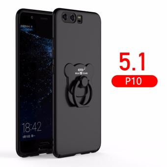 For Huawei P10 New Phone Case Hard Cover Back Cover with A Bear Ring Holder for Huawei P10