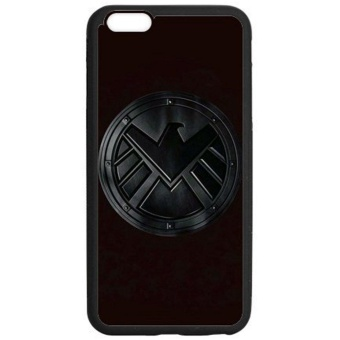 For Iphone 6 & Iphone 6S -Marvel'S Agents Of S.H.I.E.L.D.Shield Personalized Protective Black Tpu Rubber Cell Phone CaseCover - intl Price Philippines