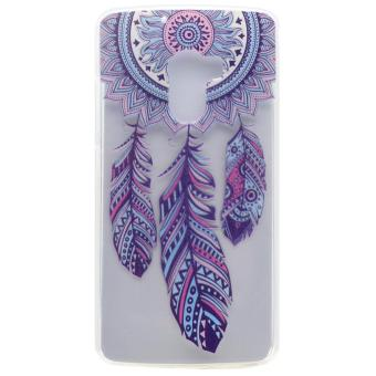 For Lenovo Vibe K4 Note / A7010 / Vibe X3 Lite Patterned Flexible TPU Back Protective Cover - Tribal Dreamcatcher - intl