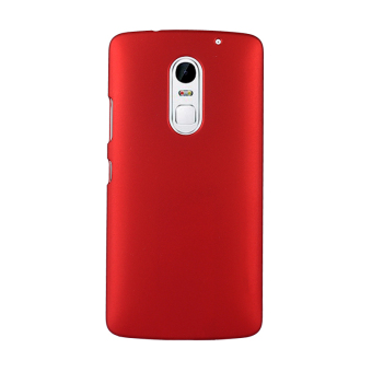 For Lenovo Vibe X3 Case Cover Plastic Multi Colors PC Case(Red)