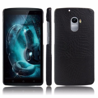 For Lenovo Vibe X3 Lite / Lenovo A7010 / Vibe K4 Note Crocodile PULeather Skin Hard Plastic Back Cover Phone Bag Case - intl