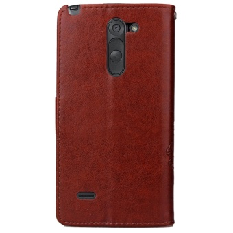 for LG G3 Stylus Case Cover - Classic Fashion Style Wallet FlipStand PU Leather Phone Case - intl - 3