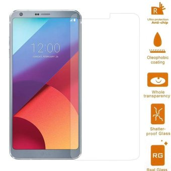 For LG G6 Mobile Tempered Glass Screen Protector 0.3mm (Arc Edge) -intl