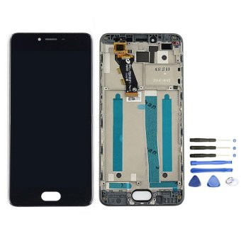 For MEIZU M3S MEILAN 3S Black Lcd Display With Original FrameScreen Replacement Digiziter Aseembly - intl Price Philippines