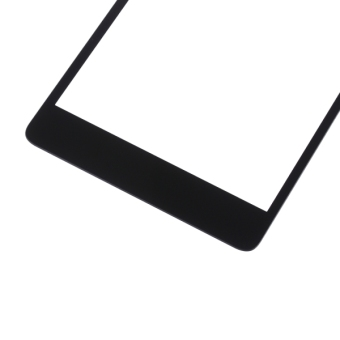 For Microsoft Lumia 540 Front Screen Outer Glass Lens(Black) - 5