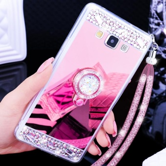 For Samsung Galaxy A8 2015 Casing Mirror Phone Case Luxury PhoneCover - intl