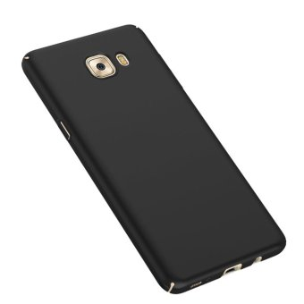 For Samsung Galaxy C9 Pro Full Body Hard PC Smooth Grip Back Case .