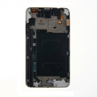 for samsung galaxy note 3 mini n7502 lcd with frame screen touchscreen touch lens digitizer replacement parts grey - 2