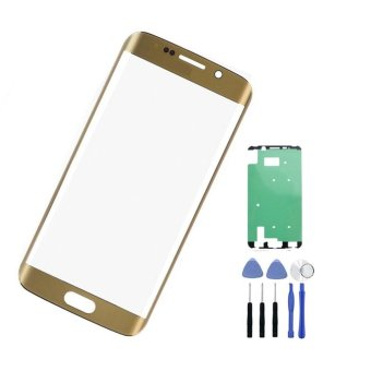 For Samsung Galaxy S6 Edge+ Plus G928 G928A Gold Screen Replacement Front Glass LCD Lens+tools+sticker - intl - 2