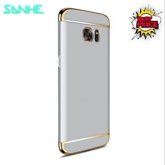 For Samsung Galaxy S7 Edge Luxury Hybrid 3 In 1 Armor Hard PC Ultra Slim Frosted Matte Back Cover Case Protection 5.5'' - intl