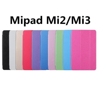 For Xiaomi MiPad 2 / Mi Pad 3 7.9 inch three Fold PU Leather UltraSlim Case