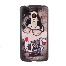 "For ZTE Nubia Z11 Max / NX523J 6.0"" inch Case Soft Silicon Coque 3DStereo Relief Painting Back Case Cover (Multicolor-3) - intl"