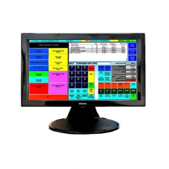 "Fortress 15.6"" LCD Touchscreen Monitor (Black) Price Philippines"