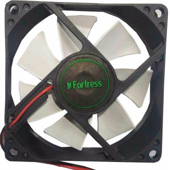 FORTRESS Computer PC Cooling 8cm Fan (WHITE) Price Philippines