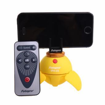 Fotopro IPH-03 Intelligent Panoramic Head + Remote (Yellow)