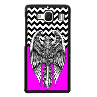 Freaky Funny Pattern Phone Case for XiaoMi RedMi 2 (Red)