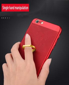 Frivolous fashion Heat Dissipation Ring Support Back Cover ForApple iPhone 6 / 6s - 3