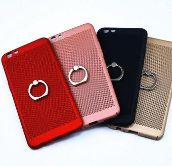 Frivolous fashion Heat Dissipation Ring Support Back Cover ForApple iPhone 6 / 6s - 4
