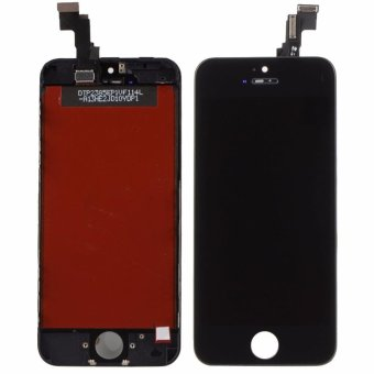 Front Screen LCD For iPhone 5S Display With Digitizer Touch ScreenReplacement Black - intl