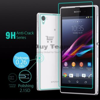Front+Back Tempered Glass for Sony Xperia Z1 L39H Full Body Screen Protector Explosion-Proof Film for Xperia Z1 C6903 Guard