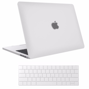 Frosted shell MacBook Case MacBook Pro (A1706/A1708)13 inch Case 2017 & 2016 Release A1706/A1708, (With keyboard membrane)Pro Case -(White) - intl