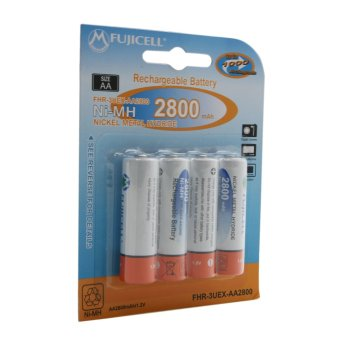 Fujicell Ni-MH AA 1.2V 2800mAh (4pcs/pack) FHR-3UEX-AA2800/4 - picture 4
