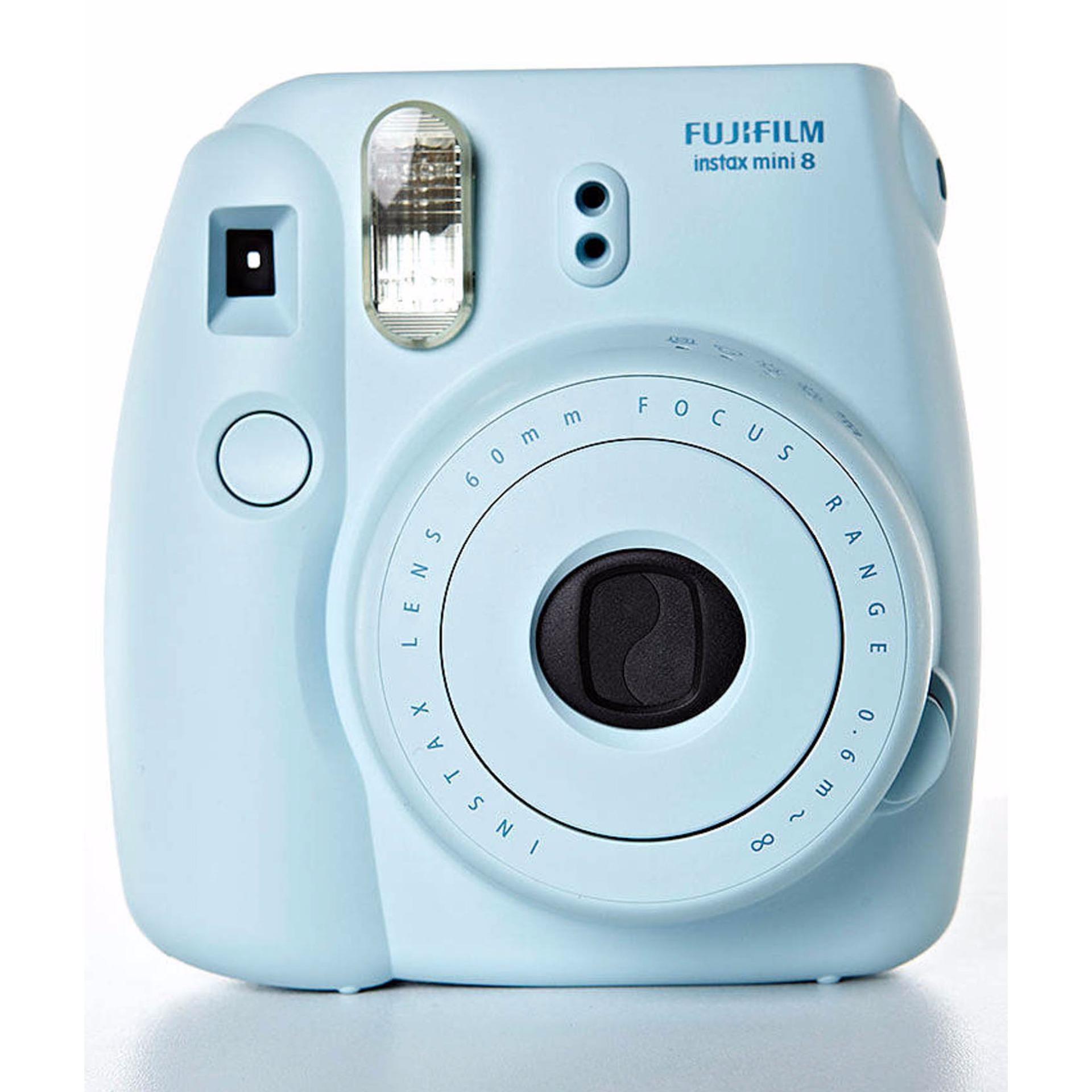 polaroid camera fujifilm instax mini 8 blue. Black Bedroom Furniture Sets. Home Design Ideas