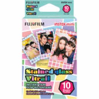 Fujifilm Instax Mini Film Stained Glass (10 Sheets)