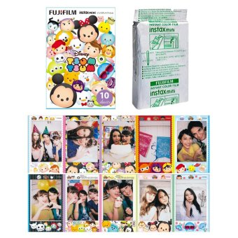 Fujifilm Instax Mini Tsum Tsum Instant 10 Film for Fuji 7s 8 25 50s 70 90 / Polaroid 300 Instant Camera / Share SP-1 Printer