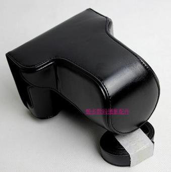 Fujifilm x-a3/x-a10/xm1 suitable Leather cover camera bag