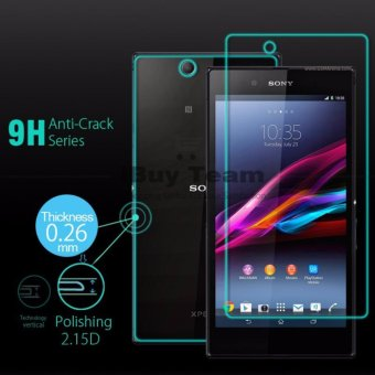 Full Body Tempered Glass for Sony Xperia Z Ultra C6833 XL39H Screen Protector Front + Back Explosion-Proof Protective Film Guard