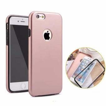Full Cover 360 Shockproof Case for Apple iPhone 5G/5S/SE(RoseGold)