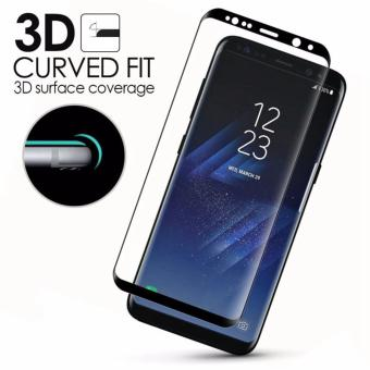 Full covered 3D Tempered Glass for Samsung Galaxy S8 (Black)