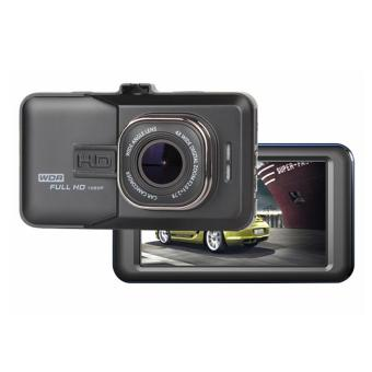 Full HD Dual Lens Car DVR Dash Camera (Black)