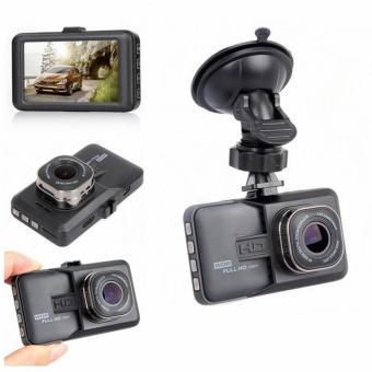 Full HD Dual Lens Car DVR Dash Camera (Black) - 2