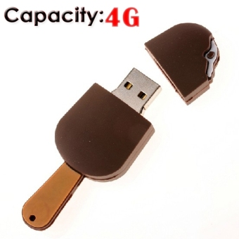 Funny Ice Cream Shaped 4GB USB 2.0 Flash Drive