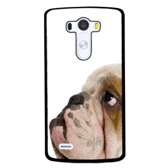 Funny Puppy Pattern Phone Case for LG G4 (Black)