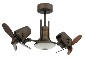 "Furn Fan 18"" Twin Mustang Ceiling Fan 3MT18RB-2M (Rubbed Bronze) Price Philippines"